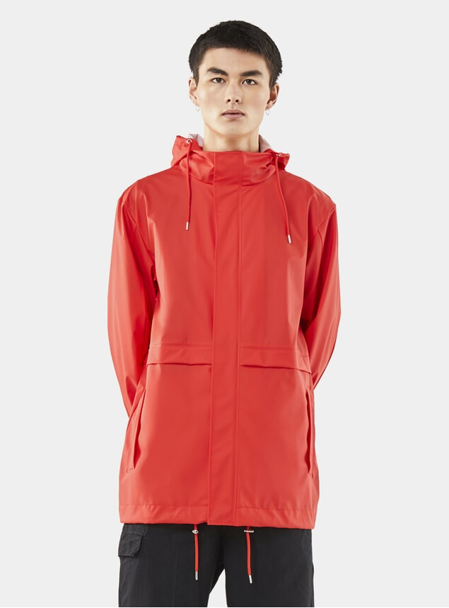 Red Tracksuit Jacket