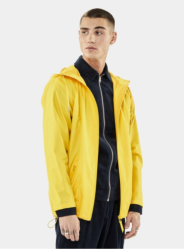 Yellow Breaker Coat