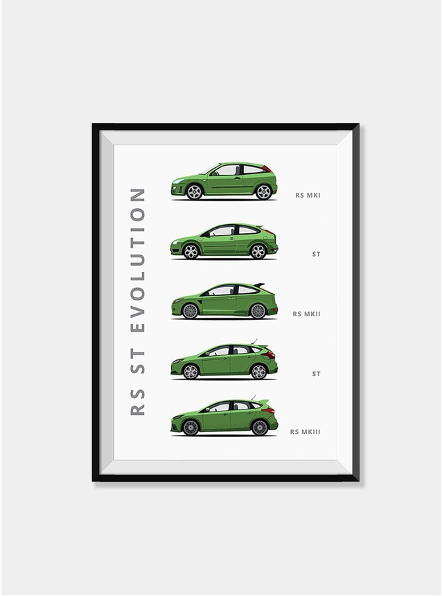 Ford Focus Car Print