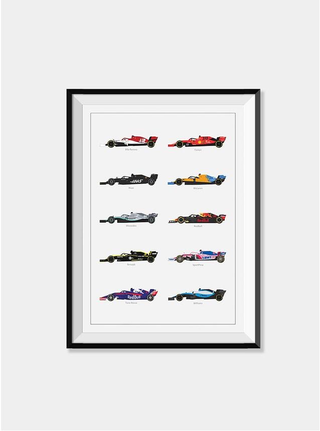 Grand Prix Lineup 2019 Print