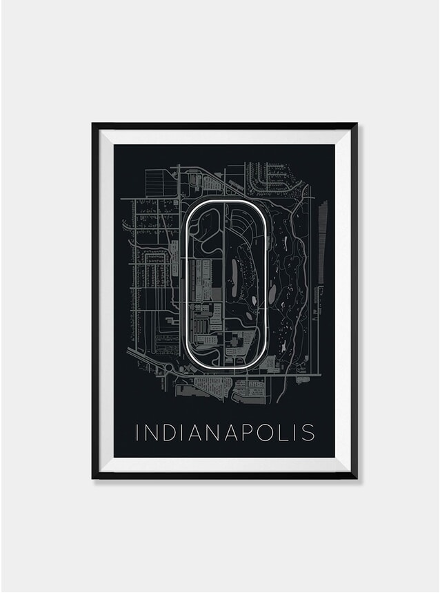 Indianapolis Motor Speedway Race Track Print