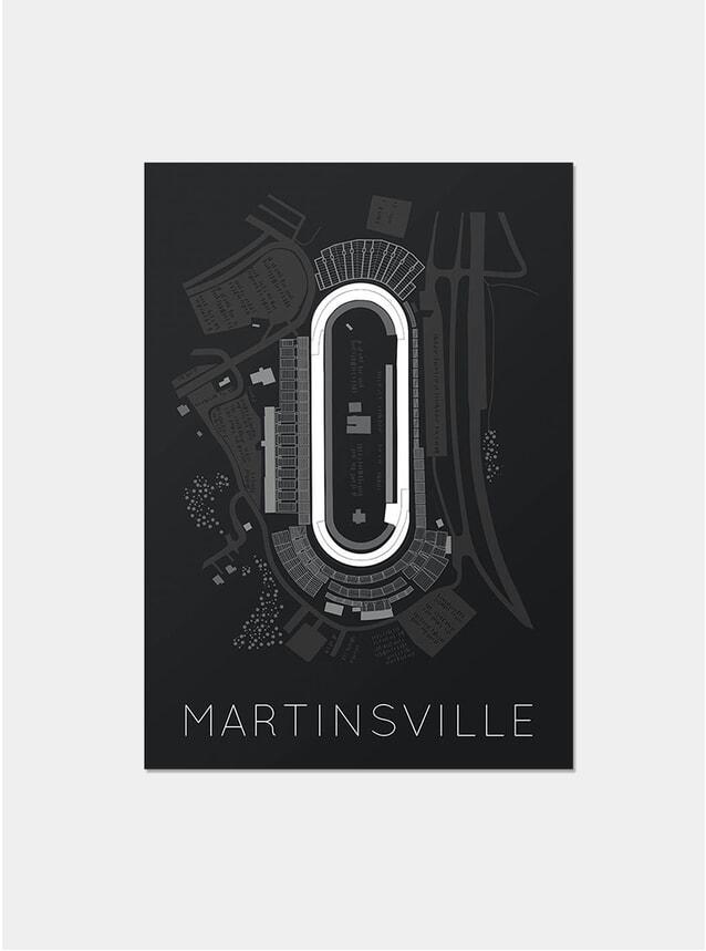 Martinsville Print