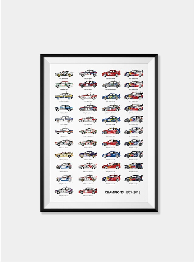 Rally Champions - The Trackmasters Print