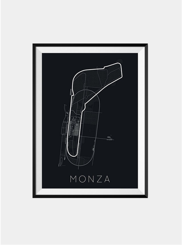 The Monza Race Track Print