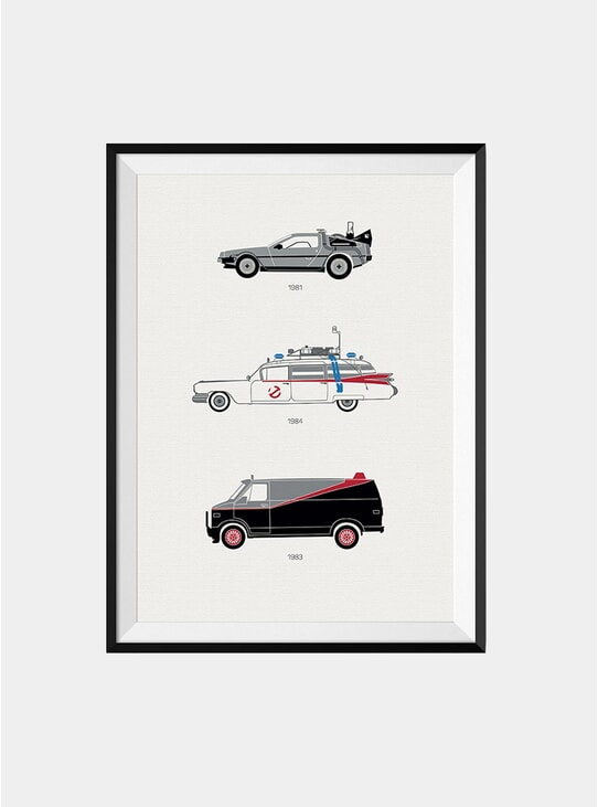 The Iconic Classic Car Print