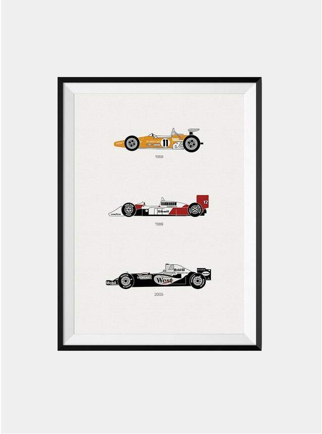 The Iconic McLaren Car Print