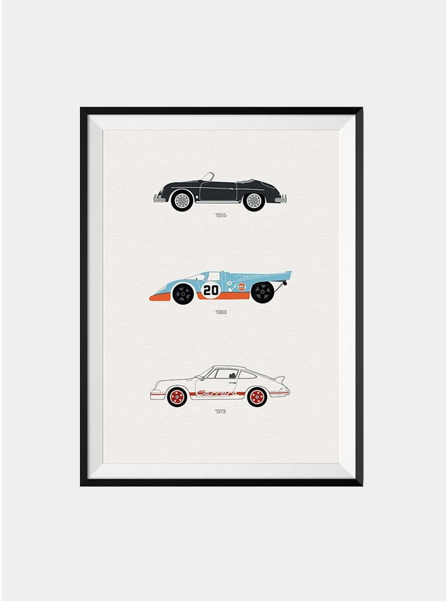 The Iconic Porsche Car Print
