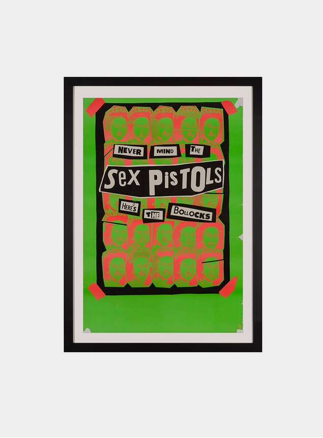 The Sex Pistols, 1977 Original Poster