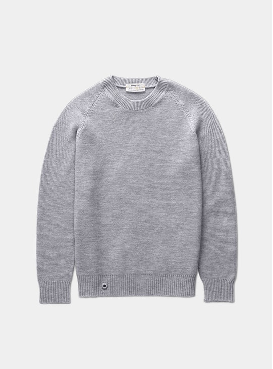 Granite Grey Medium Knit