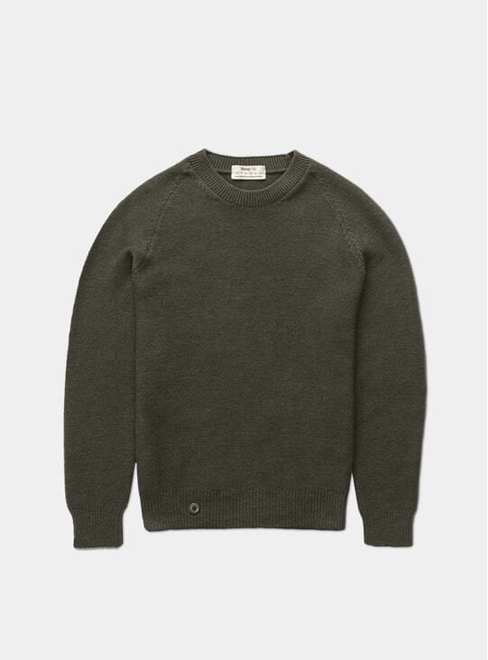 Moss Green Medium Knit
