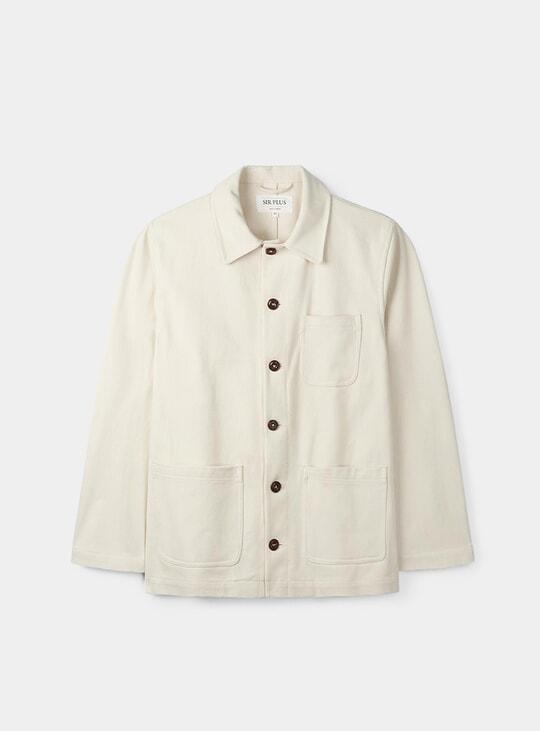 Stone Twill Chore Jacket