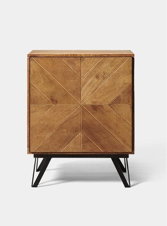 Scott Mango Wood Bedside Table