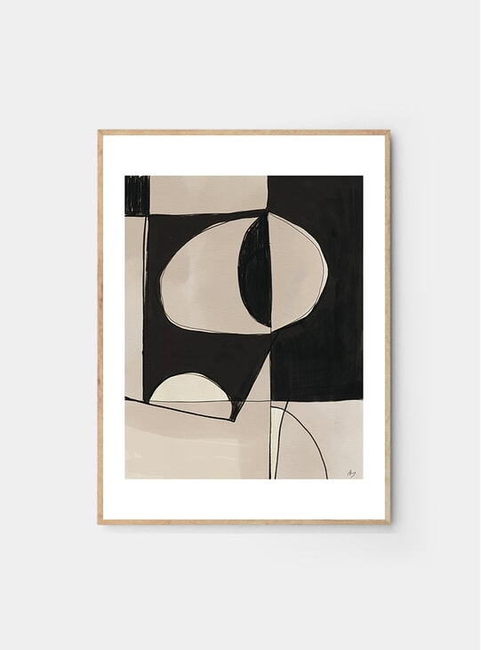 Contraste Print by Anna Johansson