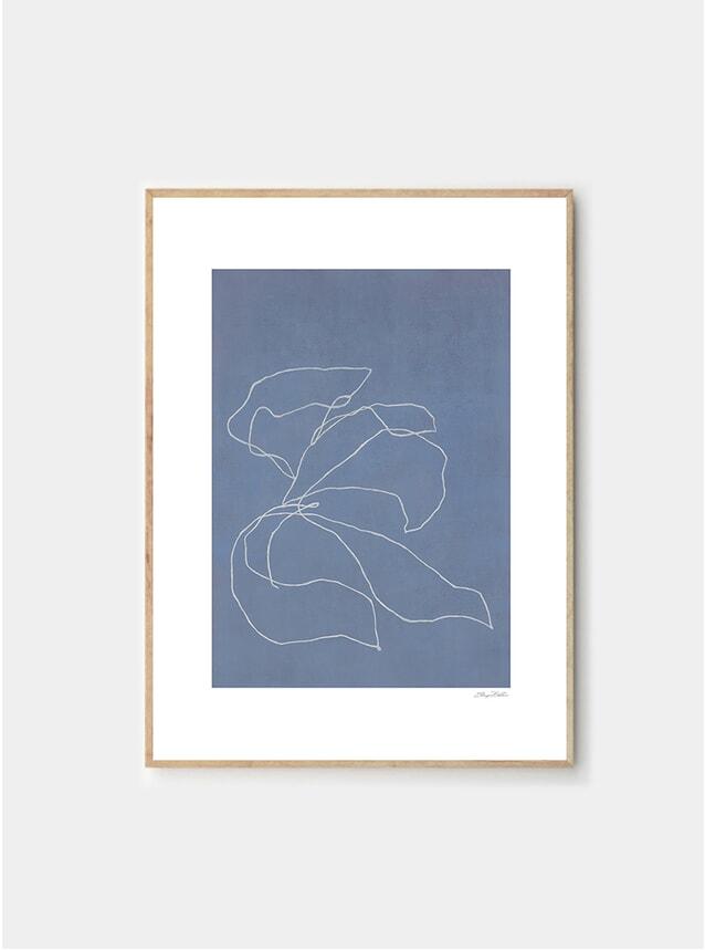 Iris In The Wind Print by Sheryn Bullis