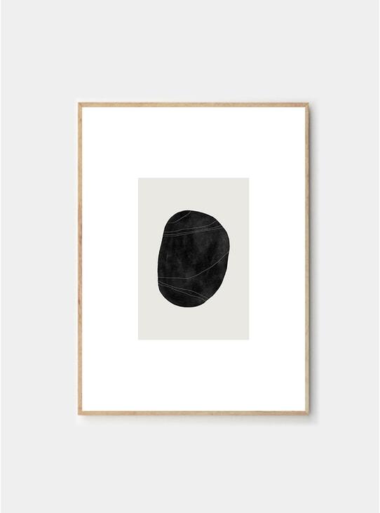 Pebble 05 Print by Studio Paradissi