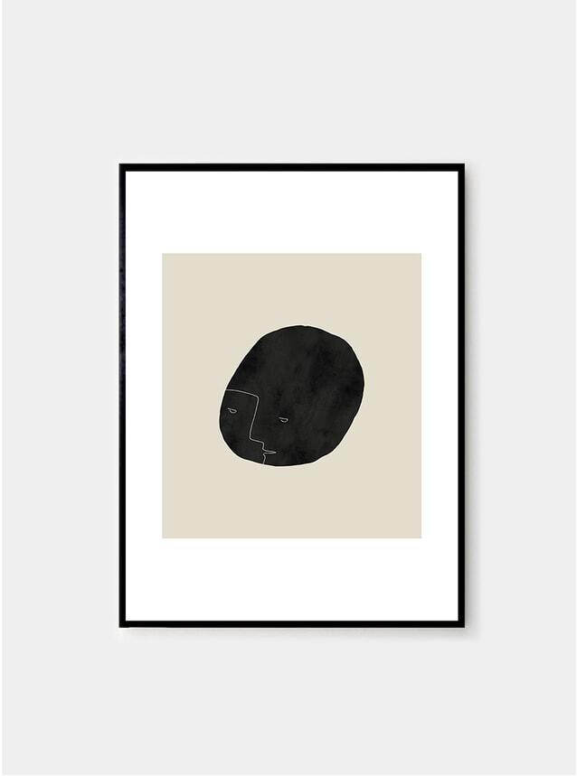 Pebbleface 03 Print by Studio Paradissi