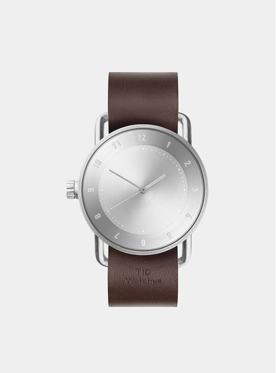 Steel / Walnut No.2 40mm Watch