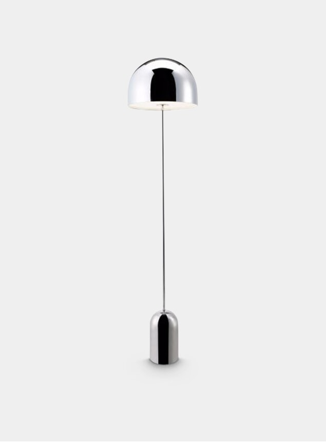 Chrome Bell Floor Lamp