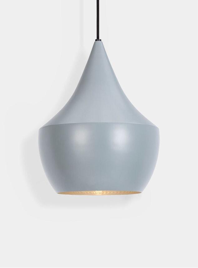 Grey Fat Beat Pendant Lamp