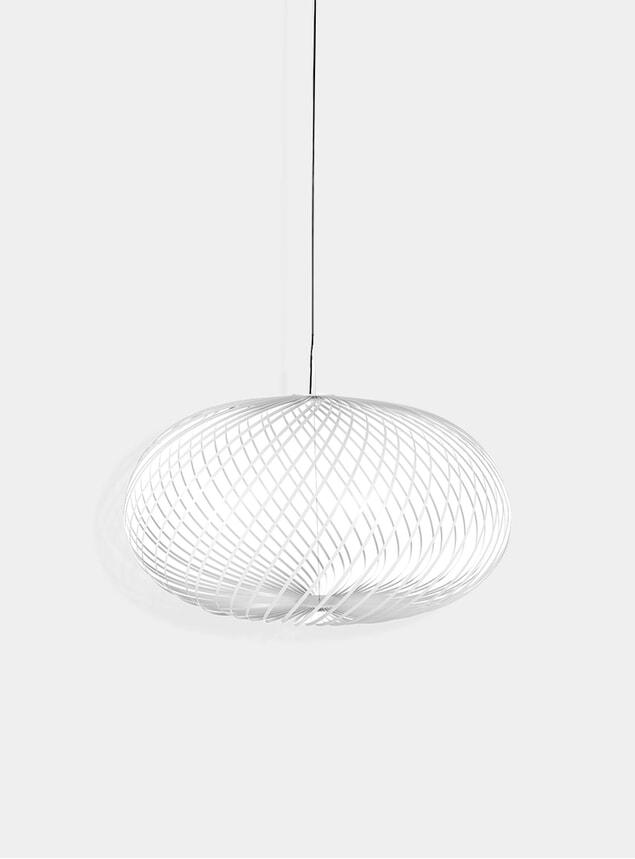 White Large Spring Pendant Lamp