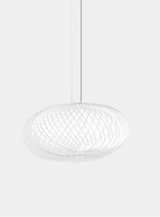 White Medium Sprint Pendant Lamp