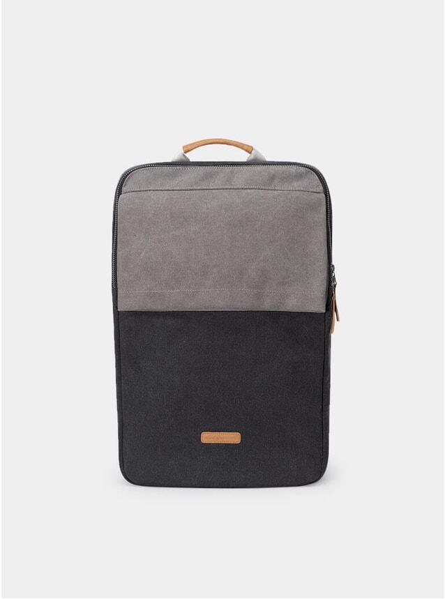 Black / Grey Nathan Backpack