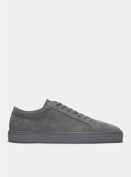 Grey Suede Triple Series 1 Sneakers