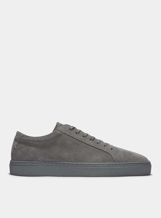 Triple Grey Suede Series 1 Sneakers