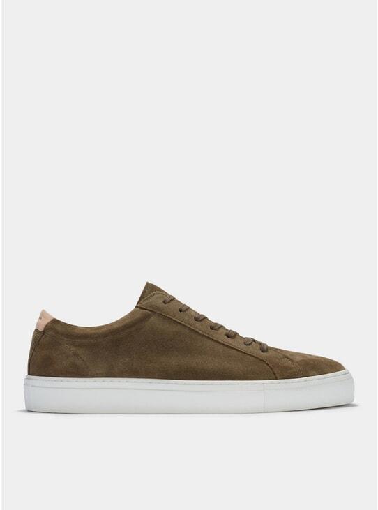 Olive Suede Series 1 Sneakers