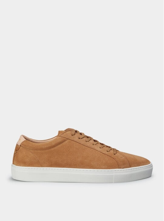 Tan Suede Series 1 Sneakers