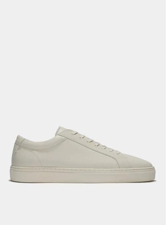 Triple Ecru Leather Series 1 Sneakers