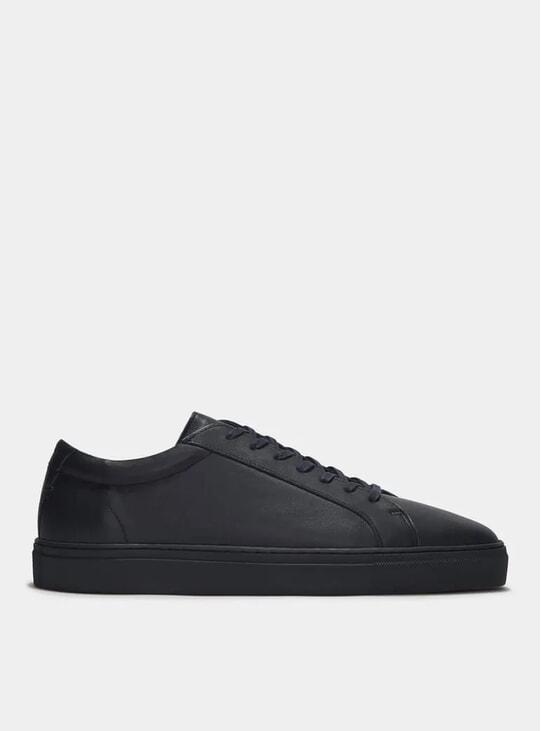 Triple Navy Leather Series 1 Sneakers