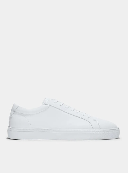 Triple White Leather Series 1 Sneakers