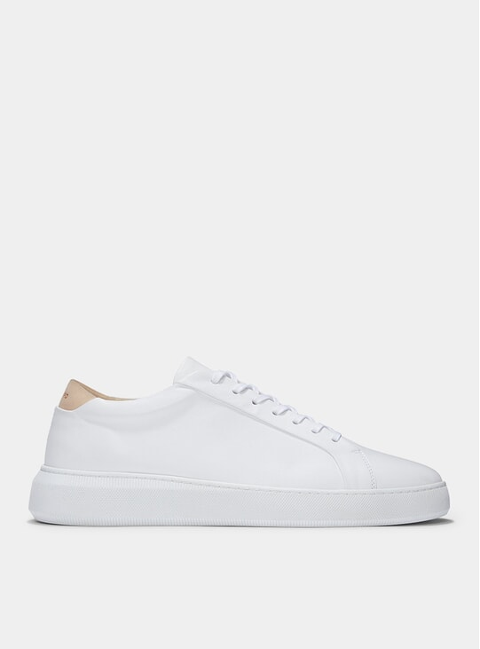 White Leather Series 8 Sneakers