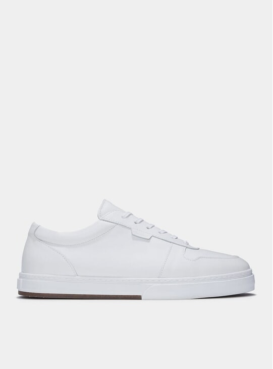 White Leather Series 6 Sneakers