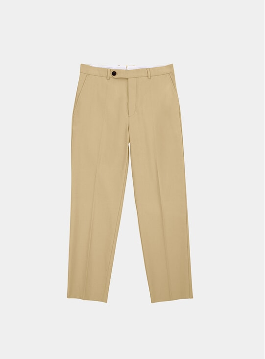 Cotton Twill Volume Trousers