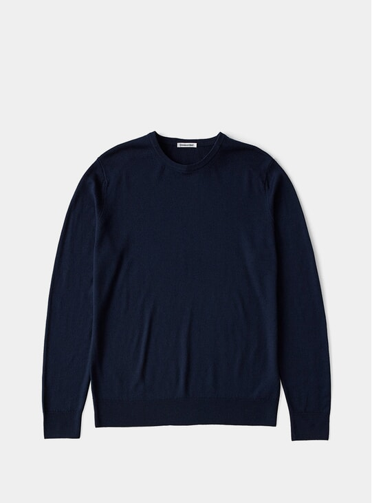 Navy Merino Sweater