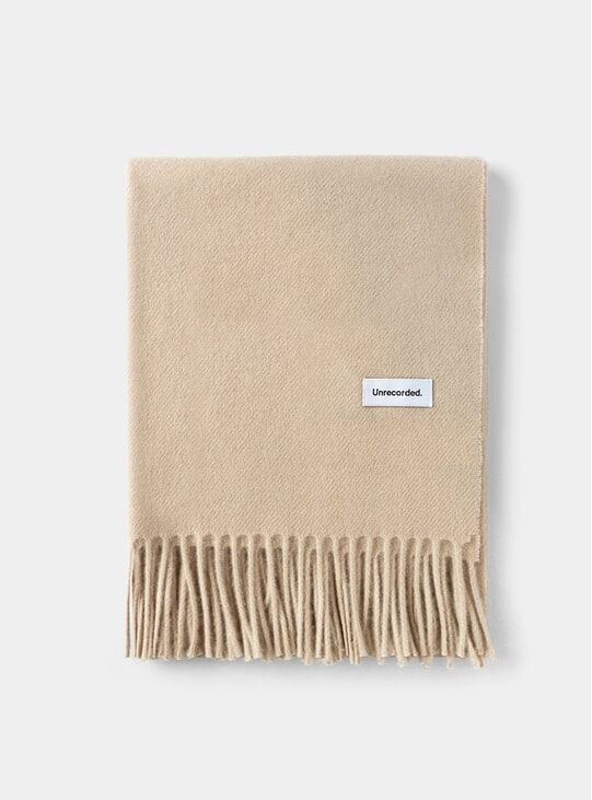Sand Wool Scarf