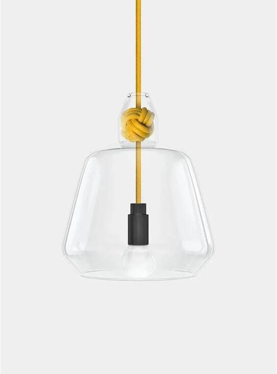 Yellow Knot Pendant Lamp