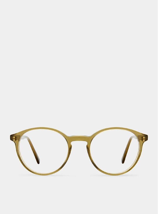 Khaki Dapper Glasses