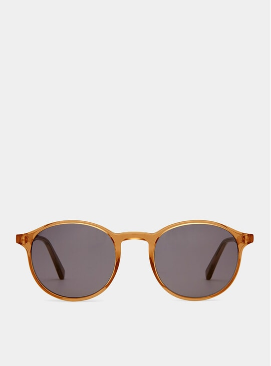 Rust Shiny Expert Sunglasses