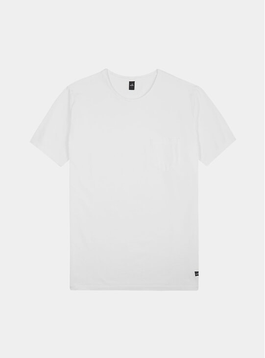 White Dean Pique Dean T Shirt