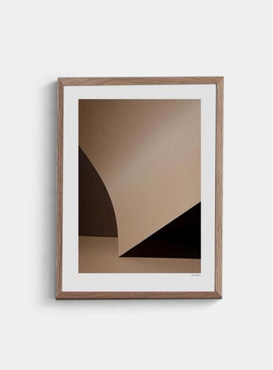 Beige Simplicity No.4 Print