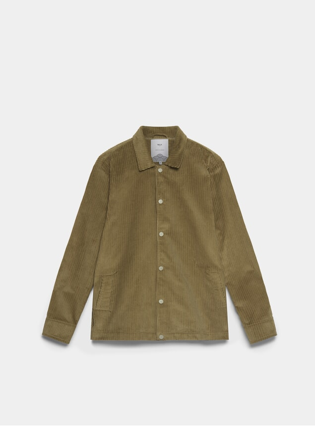 Beige Cord Berg Jacket