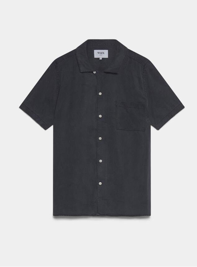 Black Fazely Short Sleeve Shirt