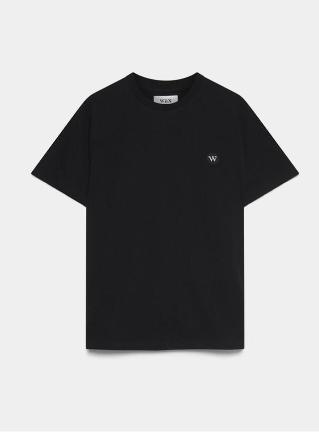 Black Reid Badge T Shirt