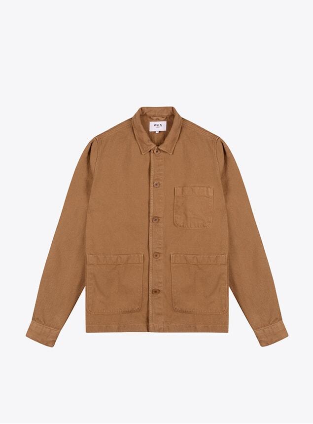Brown Heavy Denim Chet Overshirt