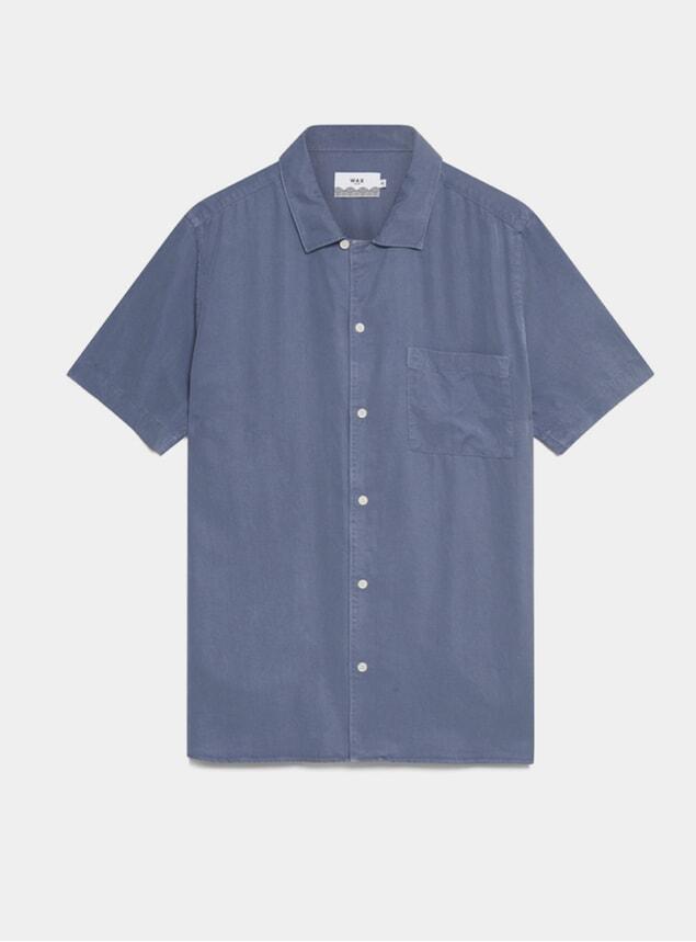 Folkestone Grey Fazely Short Sleeve Shirt