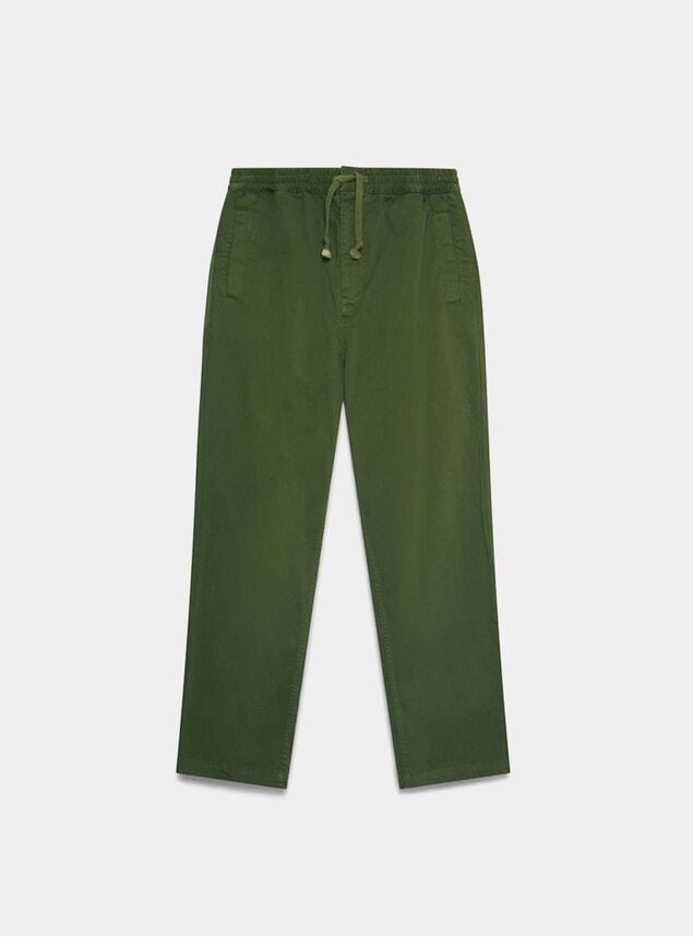 Khaki Alston Trousers
