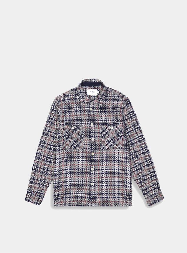 Midnight Tweed Whiting Shirt